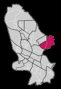 Stadtgebiet Mannheim
